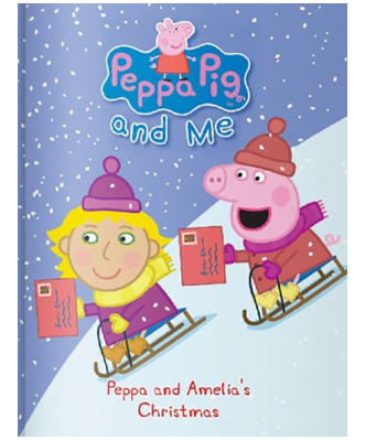Personalised Peppa Pig: Christmas Book