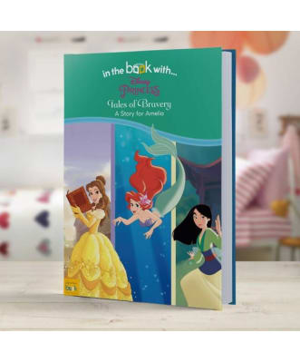 Personalised Disney Book - Disney Princesses' Tales of Bravery