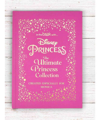Personalised Disney Princesses Book