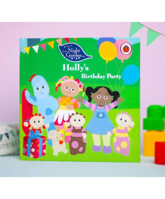 Personalised Children's Book: in the night birthday party