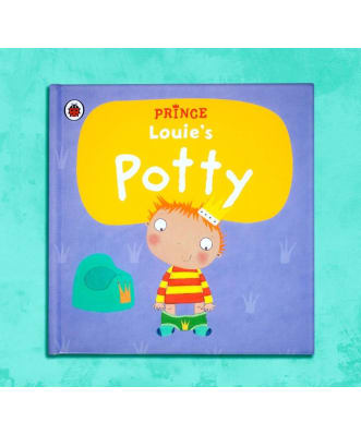 Personalised Potty prince book