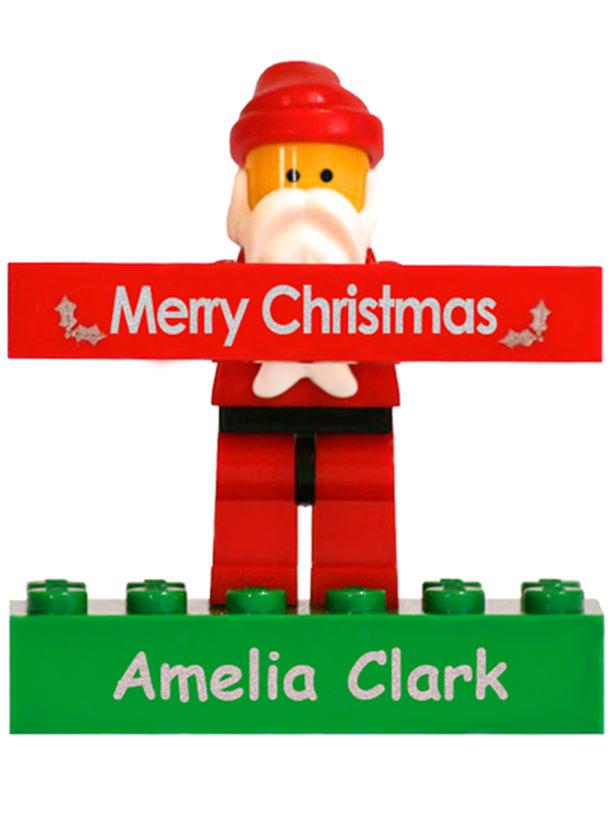 Santa Lego Bricks, Labels4kids