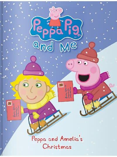 Personalised Peppa Pig: Christmas Book