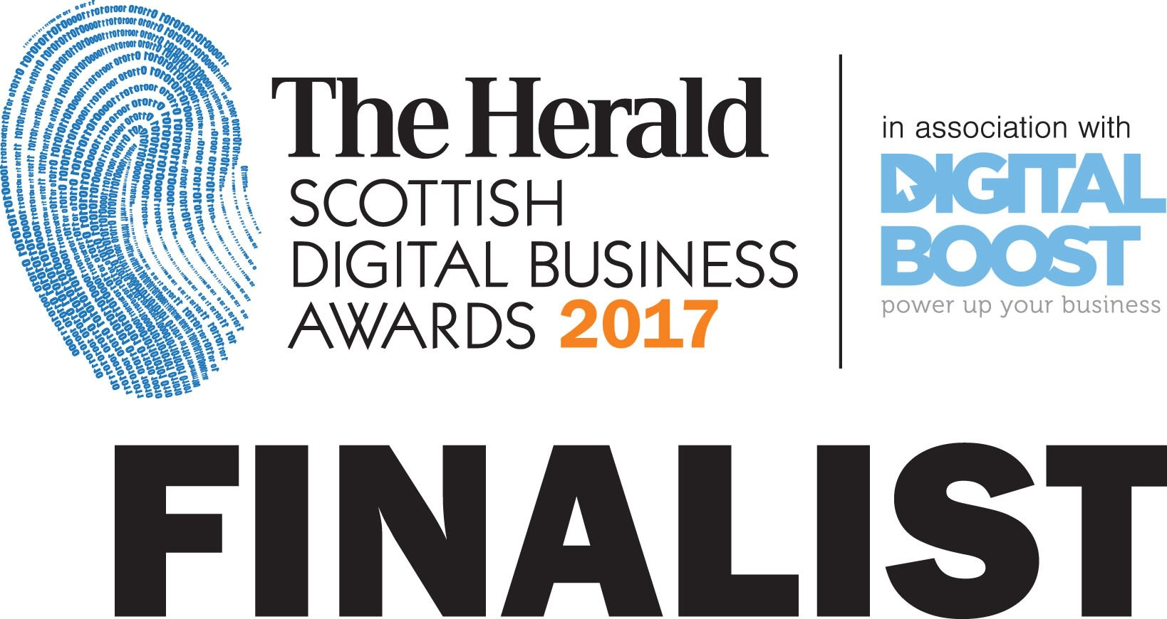The Herald Scottish Digital Business Awards Finalist 2017