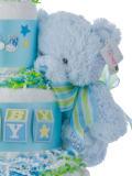 Gund My First Teddy Blue Plush Toy