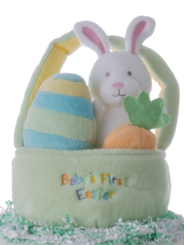 First Easter 2 Tier Diaper Cake