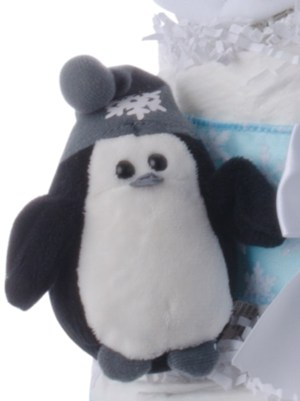 Lil' Penguin 3 Tier Diaper Cake