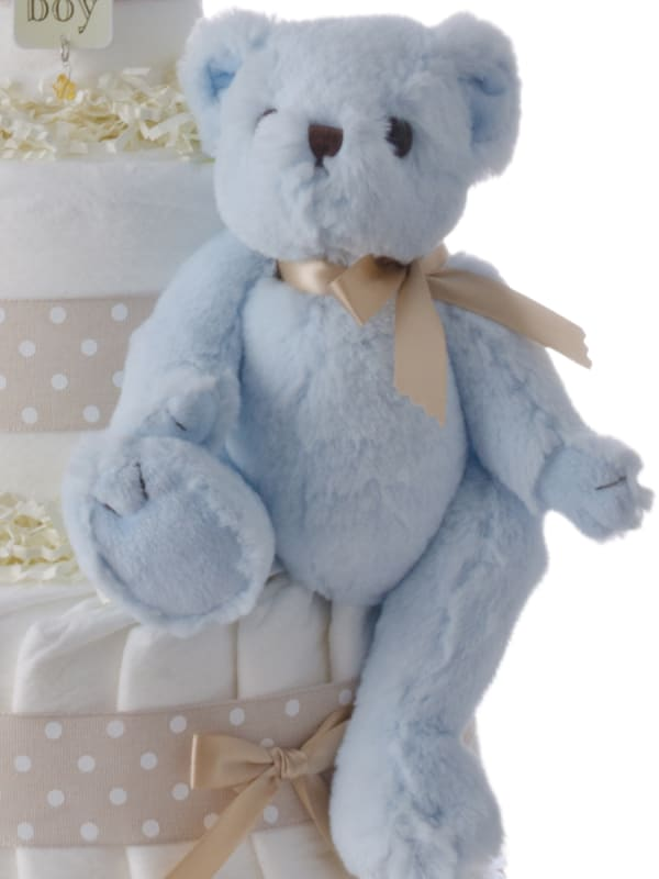 B is for Boy Three Tier Diaper Cake