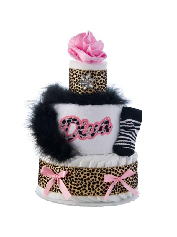 Lil' Diva 3 Tier Diaper Cake
