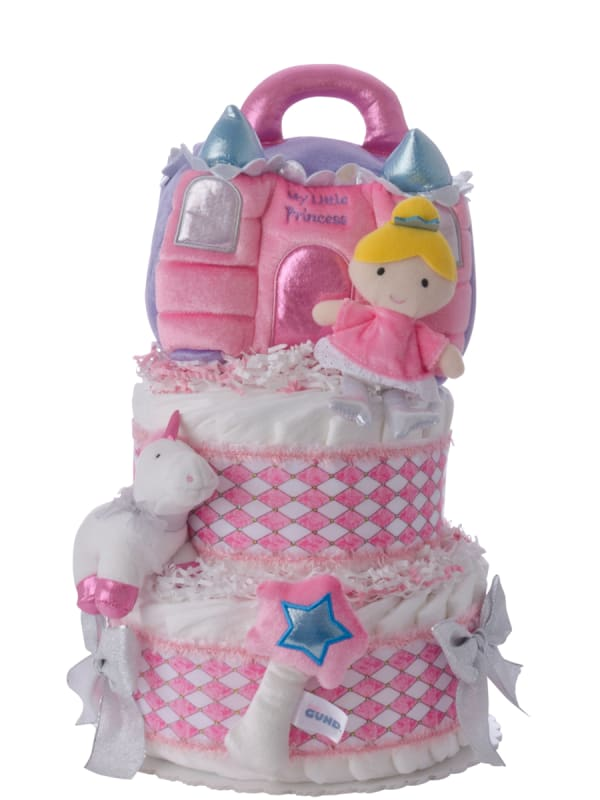 My Lil' Princess Baby Diaper Cake for Girls
