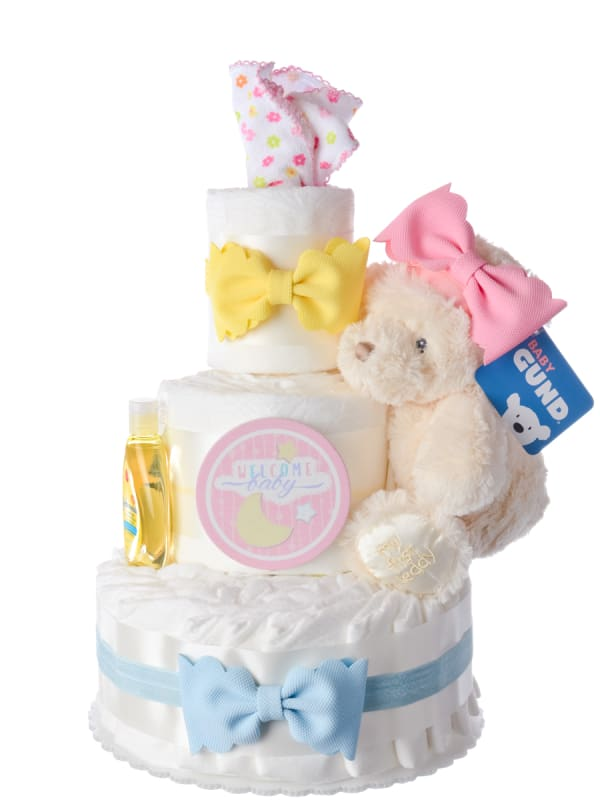 Our Lil' Sweetheart 3 Tier Diaper Cake