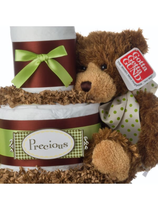 Precious Bear Lil Baby Cake