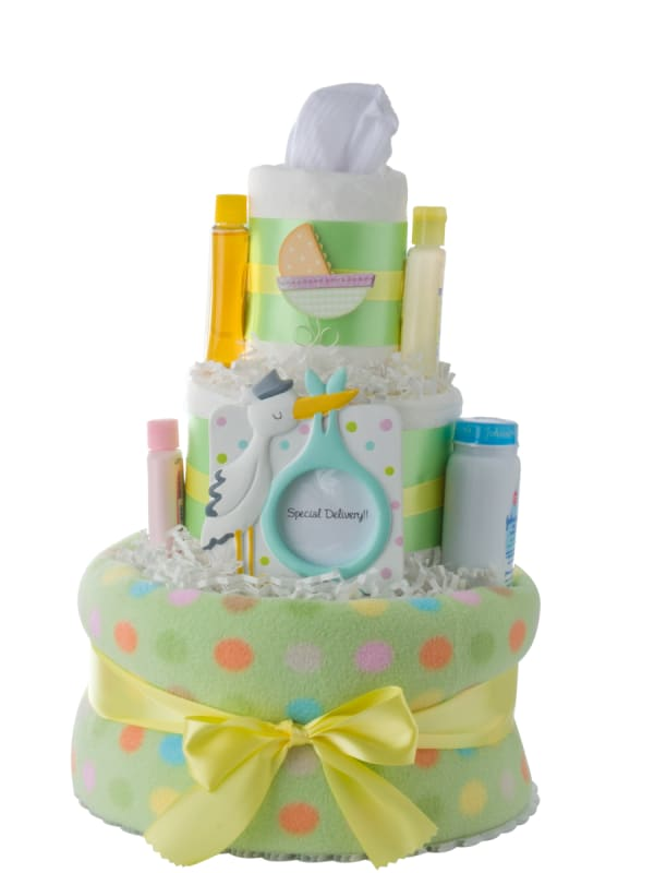 Special Delivery Neutral Diaper Cake