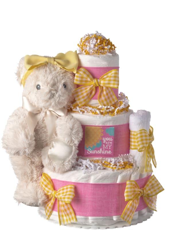 You are My Sunshine Diaper Cake