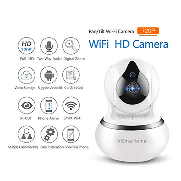 HD Smart Security Camera