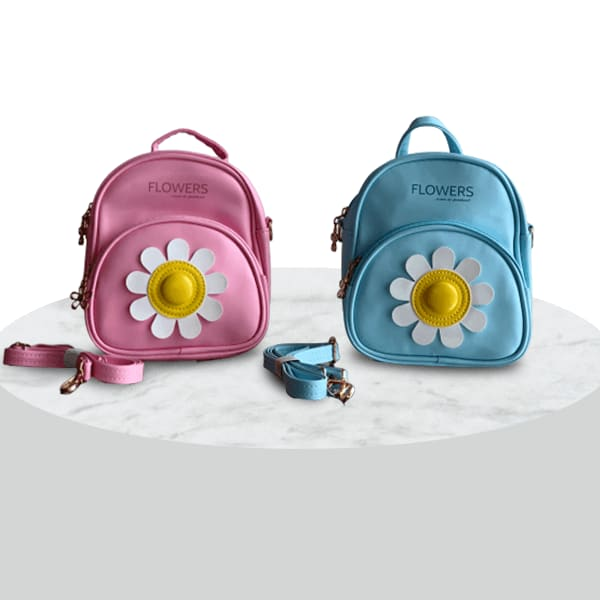 Cute Small Backpack or Sling Bag for Girls or Kids