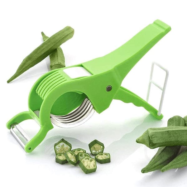 2 in 1 Multi Cutter With Peeler For Fruits And Vegetables