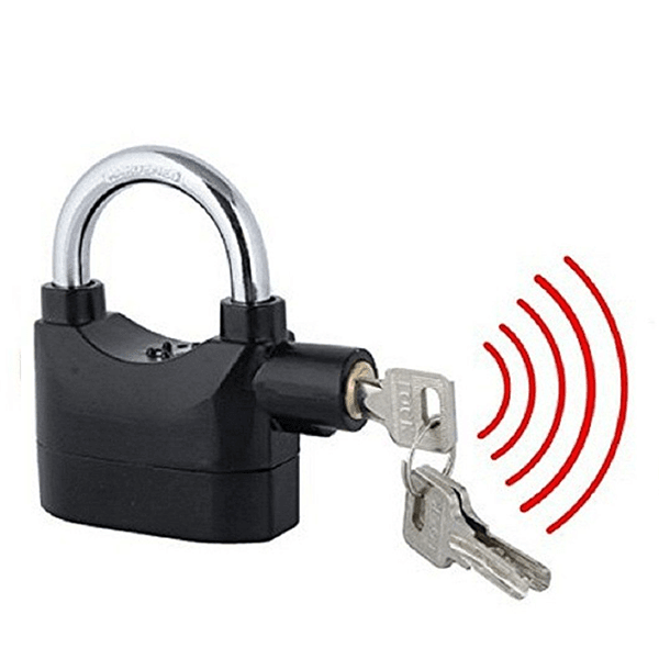 Alarm security lock with electronic slider 1 xtkham