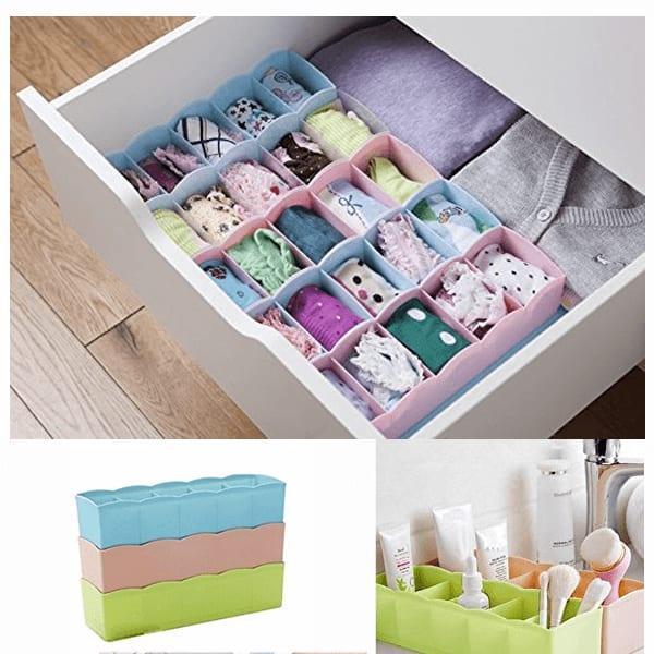 Storage drawer organiser slider 1 cc8u1m