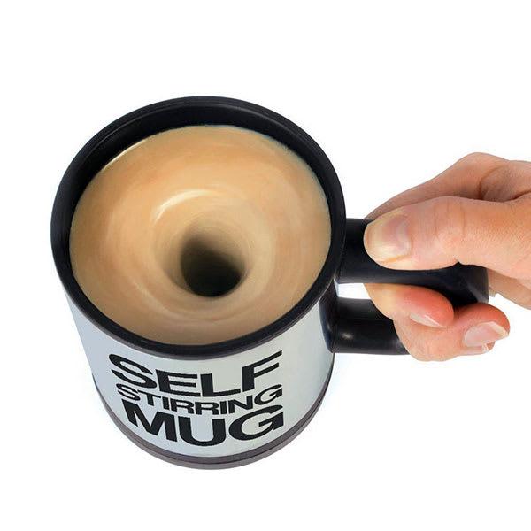 Self stirring coffee mug slider scdtjd