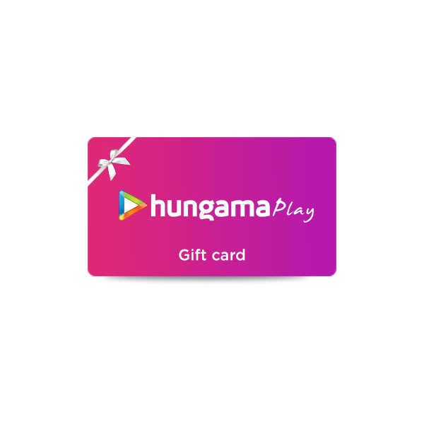 Hungama play e gift voucher guhtnw