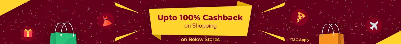 100  cashback on shopping campaign xar0rn