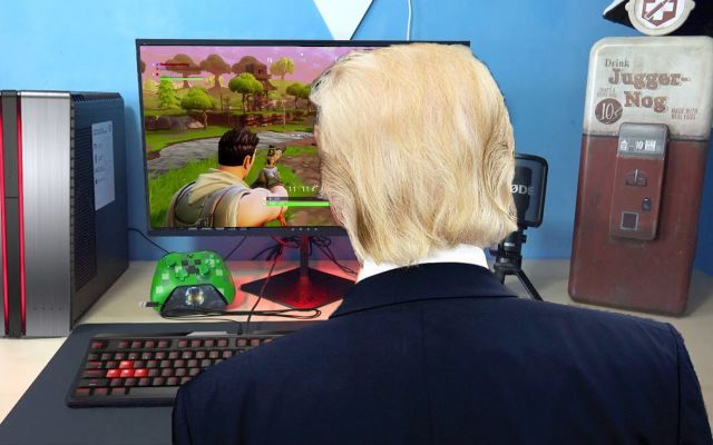 "Donald Trump Starts GoFundMe For Border Wall After Spending Government Funds On Fortnite ""V-Bucks"""
