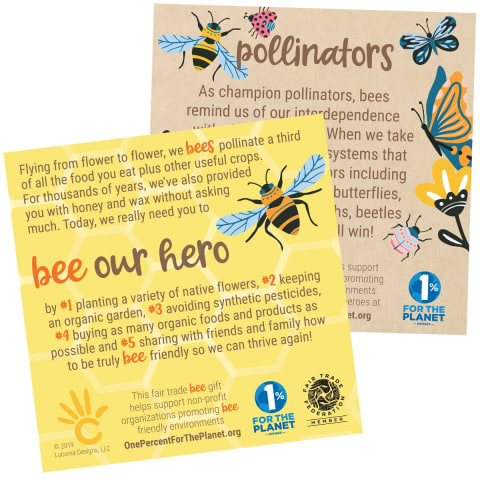 Bees & Pollinators Sign