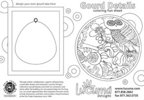Lucuma's Fair Trade Coloring Fun 1