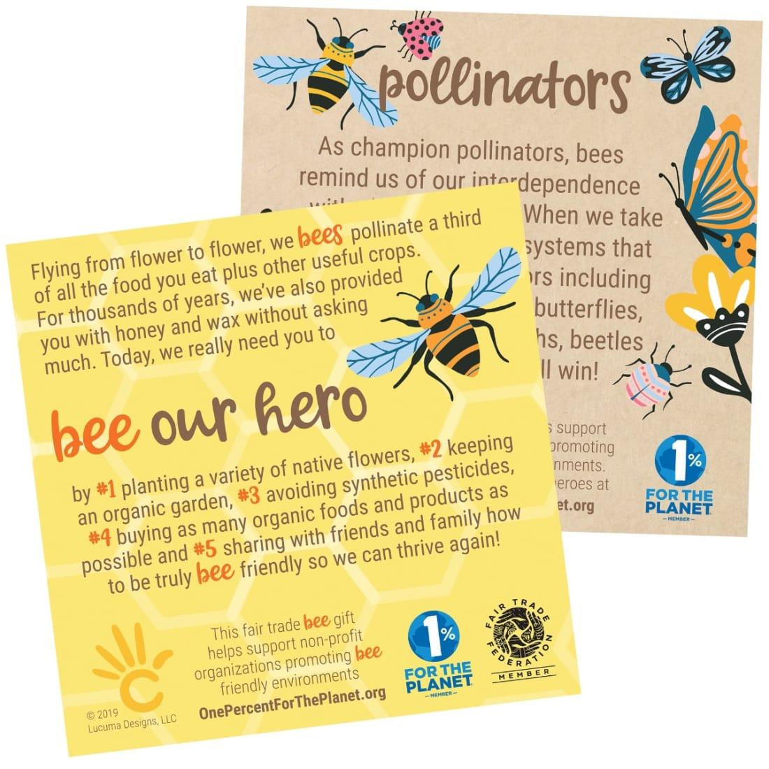 Bees & Pollinators Sign