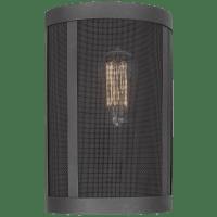 Gereon One Light Wall / Bath Sconce Black Bulbs Inc