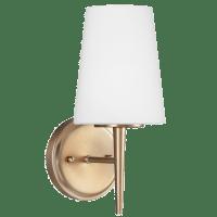 Driscoll One Light Wall / Bath Sconce Satin Brass