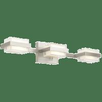 Kamden 3-Light Bath  3 Standard Satin Nickel 3000K 90 CRI LED 90 CRI 3000k 120v