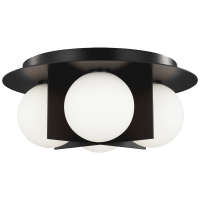 Orbel Ceiling Matte Black No Lamp