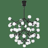 Mara Grande Chandelier White Matte Black 2700K 90  CRI LED 90 cri 2700k 120v