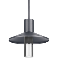 Ash 12 Outdoor Pendant Cylinder Charcoal 3000K 90 CRI 3000K High Output