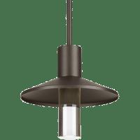 Ash 12 Outdoor Pendant Dome Bronze 2700K 90 CRI 2700K Low Output