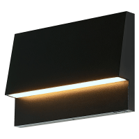 Krysen Outdoor Wall/Step Light Black 2700K/3000K Selectable 90 CRI 120V