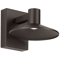 Ash 8 Outdoor Wall Bronze Dome 2700K 90 CRI 2700K Low Output, Surge Protection