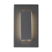 Aspen 8 Outdoor Wall Charcoal 3000K 90 CRI