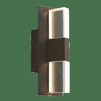 Lyft 12 Outdoor Wall Bronze Clear 2700K 80 CRI