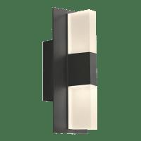 Lyft 12 Outdoor Wall Black Diffuser 2700K 80 CRI