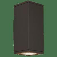 Tegel 12 Outdoor Wall Black 3000K 80 CRI, Downlight Only WC
