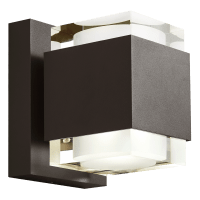 Voto 8 Outdoor Wall Bronze 2700K 80 CRI Downlight Only Surge Protection