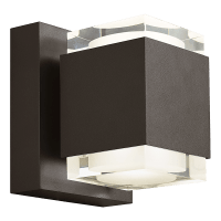 Voto 8 Outdoor Wall Bronze 3000K 80 CRI Uplight & Downlight Surge Protection