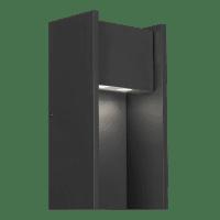 Zur 18 Outdoor Wall Black 3000K 90 CRI In-Line Fuse