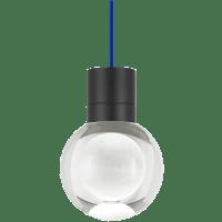 Mina Pendant 1-LITE Clear Black Blue 3000K-2200K 90 CRI LED 120v (t24)