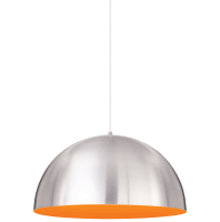 Powell Street Pendant Satin Nickel/Sunrise Orange White 3000K 80 CRI g40 led 80 cri 3000k 120v