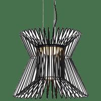 Syrma Pendant Matte Black 3000K 90 CRI  LED 90 CRI 3000k 120v