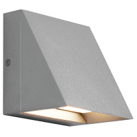Pitch Single Outdoor Wall Single Silver 3000K 80 CRI led 80 cri 3000k 120v